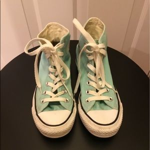Converse Green High Top Sneakers